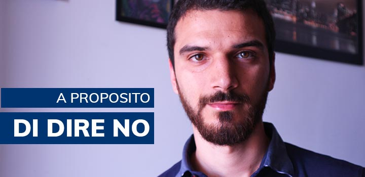 A proposito di saper dire di NO