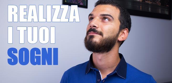 Come realizzare i propri sogni per una vita felice Sebastiano Dato Coaching Online