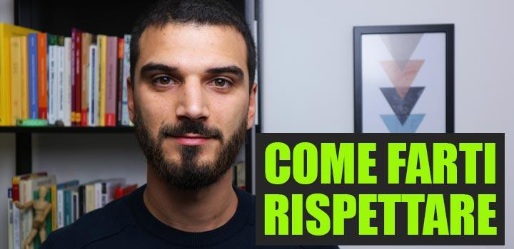 Come farsi rispettare e non essere insultati o manipolati