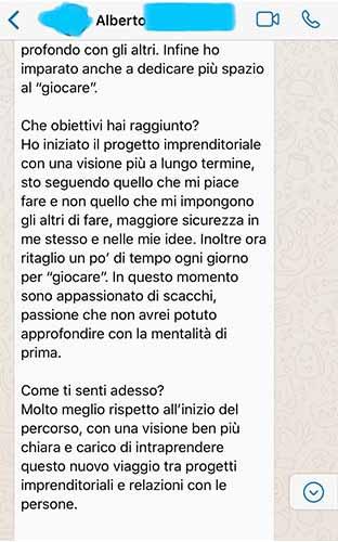 Sebastiano Dato opinioni - Alberto 2