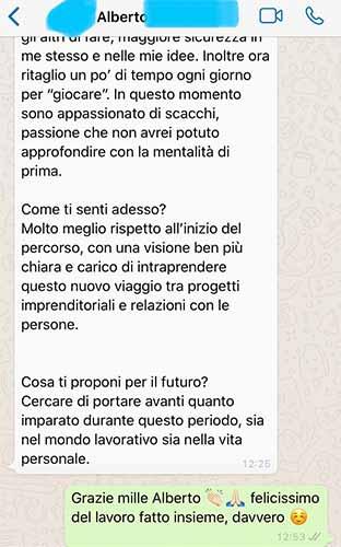 Sebastiano Dato opinioni - Alberto 3