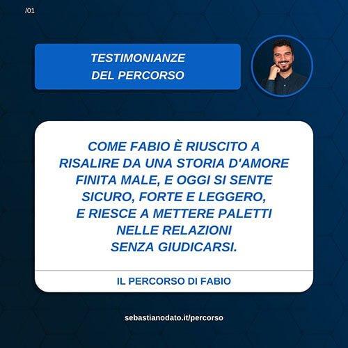 Sebastiano Dato opinioni - Fabio