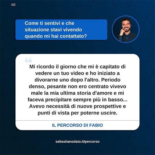 Sebastiano Dato opinioni - Fabio2
