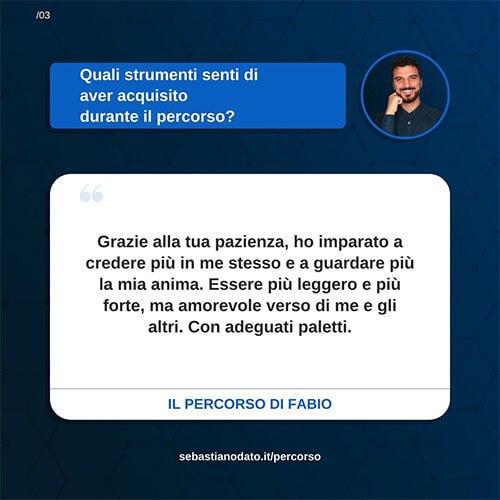 Sebastiano Dato opinioni - Fabio3