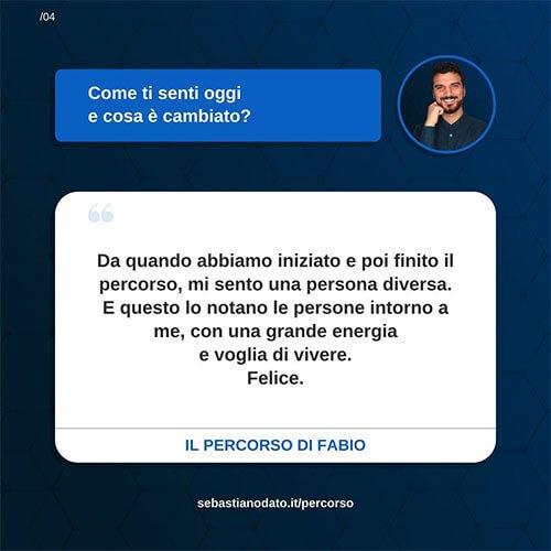 Sebastiano Dato opinioni - Fabio4