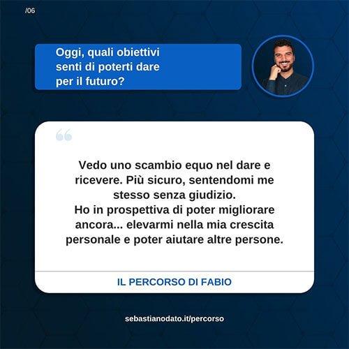 Sebastiano Dato opinioni - Fabio6